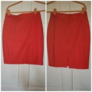 3 pair of H&M knee length skirts size 8.